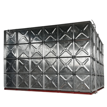 Tangki Penyimpanan Air Panel Baja Galvanzied Sectional