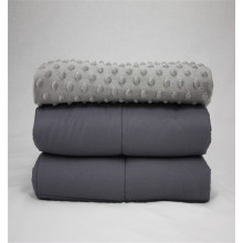 2018 New  Minky Dot  Weighted Blanket