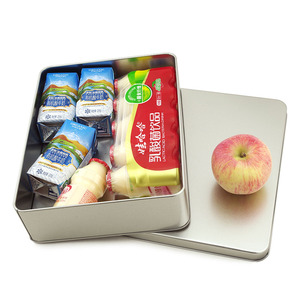 Silver Rectangle storage box