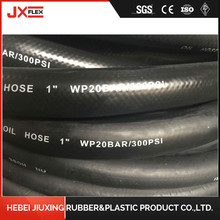 Ordinary Discount Best price for High Pressure Rubber Hose Fiber Braided Flexible Hydraulic Rubber Oil Hose supply to Singapore Supplier