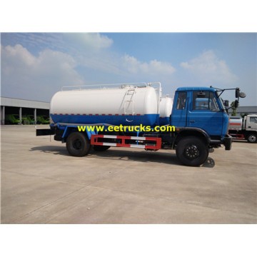 9cbm 150HP Fecal Tanker Trucks
