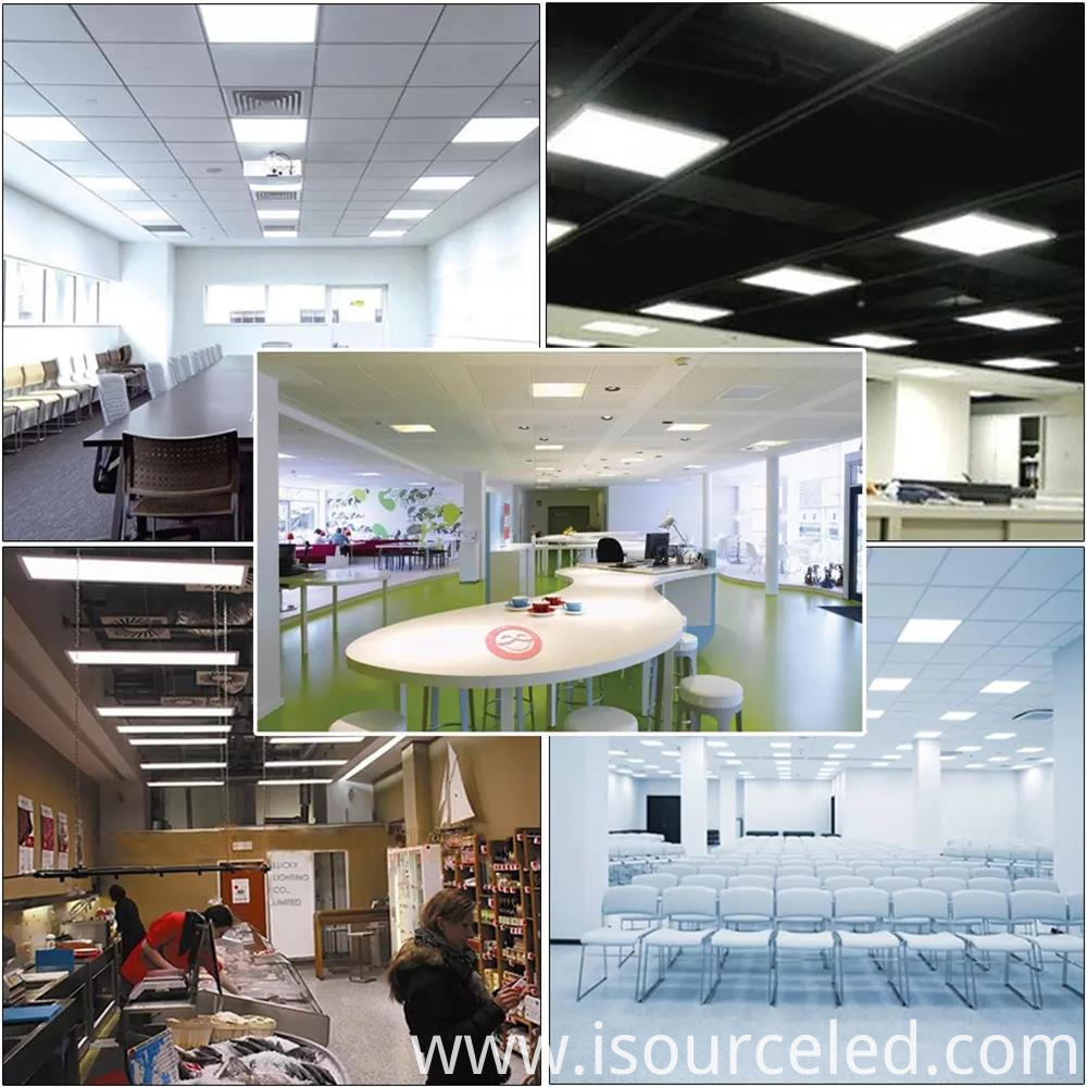 Flat panel led light 10-60W UL CE Approve 2x4