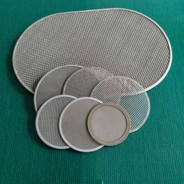 Customized wire mesh disc/ sintered wire mesh