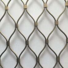 Factory Price for Stainless Steel Safty Net Zoo Stainless Steel Wire Rope Mesh Net supply to Russian Federation Manufacturers