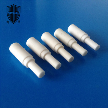 insulated locating alumina ceramic plunger step shaft