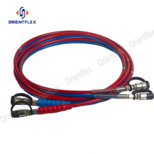 China for Hydraulic Test Hose Nylon material pressure test point hose export to France Factory