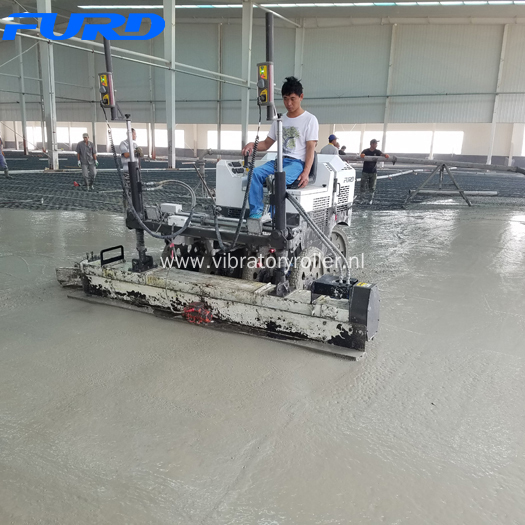 Leica Guided Laser Screed Concrete Machine