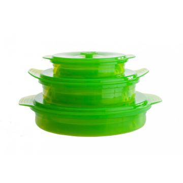 Mircowareable Silicone Collapsible Containers Bento Boxes