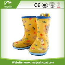Kids Children Rubber Wellies Cartoon Printing Rain Boots