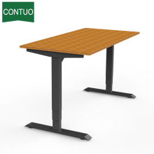 Sit Stand Desk Frame With Lifting Column Leg
