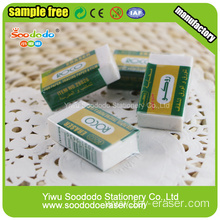 White school eraser ,office stationery forzen eraser