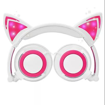 2019 popular high Quality cat ear headphones earphones