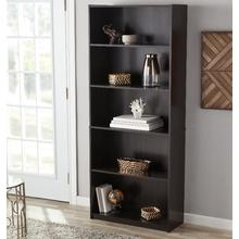 New Fashion Design for Solid Wood Bookcases Tall Black Canada Book  Display Shelf Price export to United States Supplier