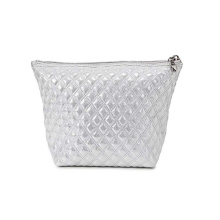 New Style Luxury Glitter Sliver Beauty Cosmetic Bag