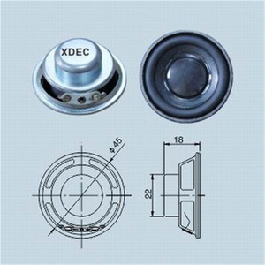 High Quality for for Bluetooth Mini Speaker High Efficient Neodymium Magnet 45mm 3w 4ohm Speaker export to Syrian Arab Republic Suppliers