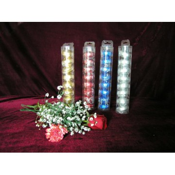 Nice and Smooth Flame Metallic Floating Candles