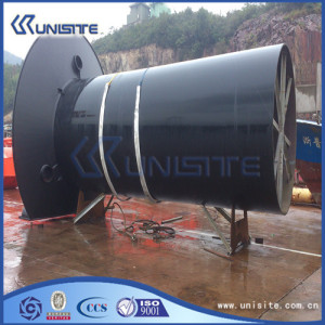 Customized marine overflows pipe