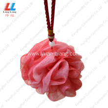 China Gold Supplier for for Mesh Bath Sponge back scrubber cleaner exfoliating loofah Shower Sponge supply to Japan Manufacturer