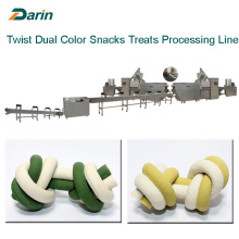 OEM/ODM for Pet Food Making Machine Dual Color Dog Snacks Treats Extruding Machine supply to Singapore Suppliers