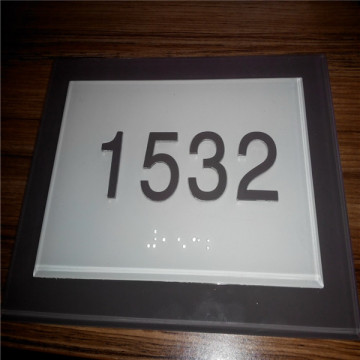 ADA Braille Door Number Signs