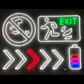 DIRECTIONAL NEON SIGN LIGHTS