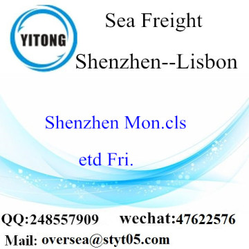 Shenzhen Port LCL Consolidation To Lisbon