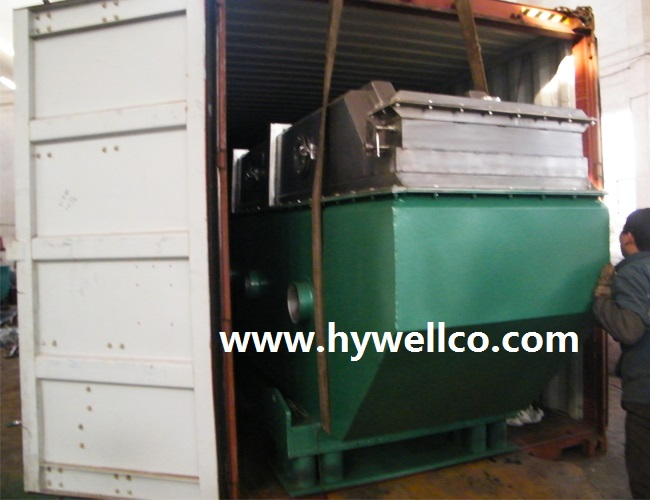 Herbicide Granules Drying Line