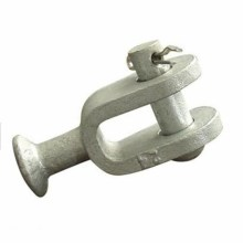 Hot Dip Galvanized Link Fitting QS Ball Clevis