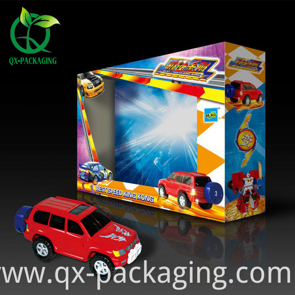 Toy car packaging