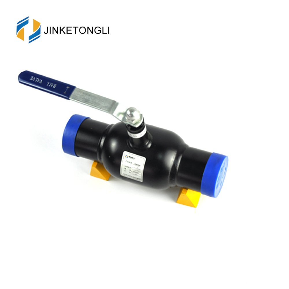 JKTL1W005 Gas Ball Valve with Full Welded Body and Ends PN16 PN25 PN40