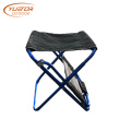 Kids Ultralight Backpacking Folding Camp Stool With Back
