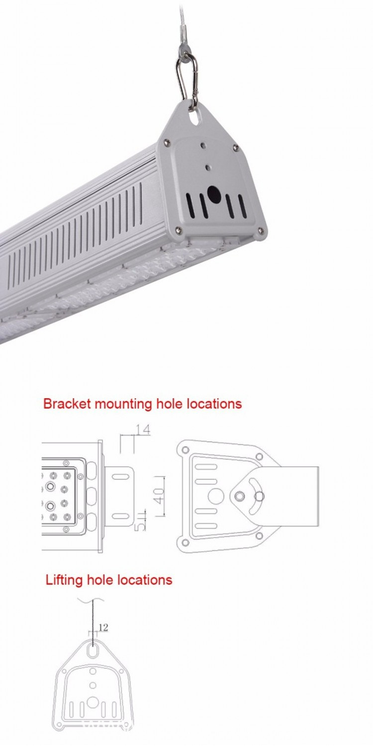 200w led linear high bay light