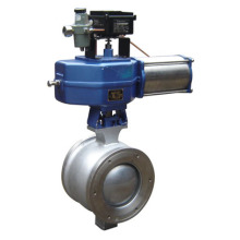 Pneumatic V Type Ball Valve