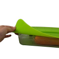 Airtight Reusable Flexible fresh food cover set