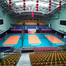 Enlio Indoor Volleyball PVC Sports Flooring