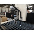 CNC plasma cutter machine with drilling function
