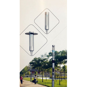 High Quality Industrial Factory for Intelligent Street Lamp Multi-functional Intelligent Street Lamp export to United Kingdom Factory