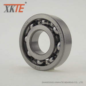 Open Type Iron Cage Ball Bearing 6306 C4