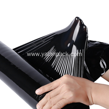 Plastic LLDPE Black Pallet Wrap Stretch film