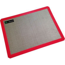 Best-Selling for Non Stick Silicone Mats Silicone Baking Mat -For Lining Pastry Pans And Cake Pan - Non Stick Surface Sheet Makes Baking Easy - Large Half Sheet supply to South Korea Factory