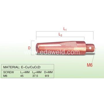 Panasonic 500A M6x45 Contact Tips