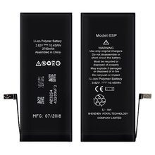 iPhone 6S Plus me kapacitet të lartë Li-ion Battery 3410mAh