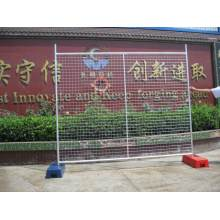 Factory provide nice price for  pvc temporary construction chain link fence supply to Swaziland Manufacturers