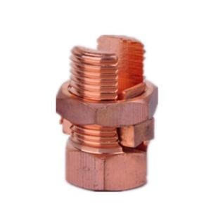 China Manufacturer for  T/J Imported Copper Split Bolt Connector Clamp supply to Tokelau Exporter