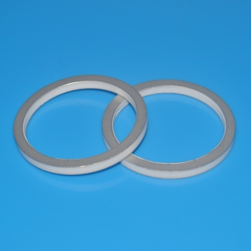 High Bonding Strength Al2o3 Ceramic Metallization Ring