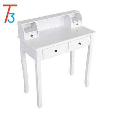 Wood Mirror  Simple Dressing Table Designs With Drawer