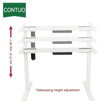 Renewable Design for for Single Motor Standing Desk,Adjustable Table,Adjustable Computer Desk Manufacturer in China Office Best Motor Controller Ergonomic Computer Desk supply to Maldives Factory