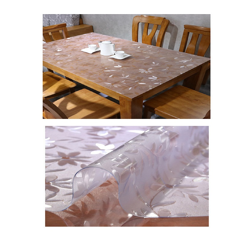 Clear Plastic Table Cloth