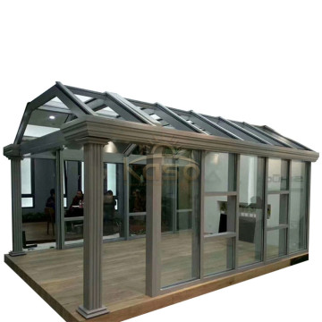 High Quality for Glass House Waterproof Sunroom Aluminium Water Proof House supply to Sierra Leone Manufacturers