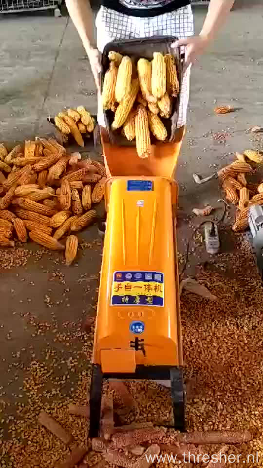 99% Shelling Rate Small Corn Sheller Corn Thresher